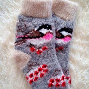 детские носки рябина