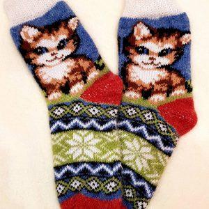 детские носки котик