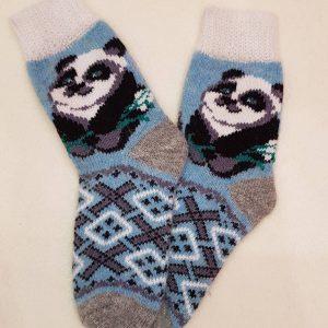 женские носки панда